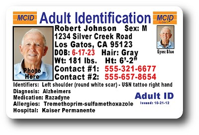 Adult Safety ID