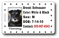 Pet ID for Pet Carrier